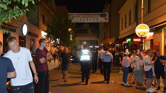 Kontroly na Stodolní ulici v Ostravě. Ilustrační foto.