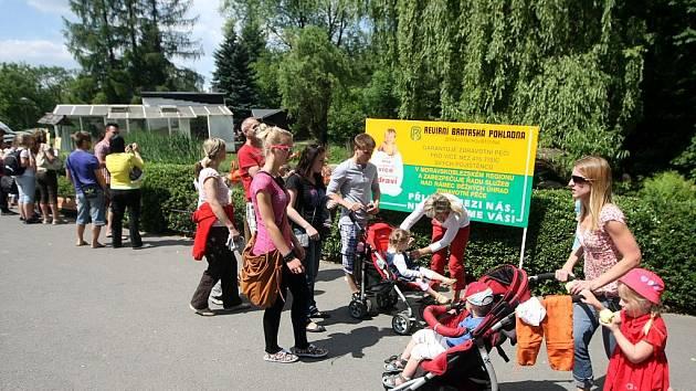Už patnáctý ročník Dne zdraví s Revírní bratrskou pokladnou (RBP) (RBP) se uskutečnil v sobotu v ostravské zoo.