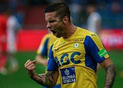 I. liga, 4. kolo, FC Baník - FK Teplice: 3 : 3, na snímku Martin Fillo