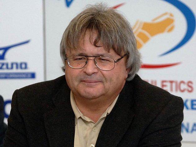 Místopředseda Českého atletiského svazu Oldřich Zvolánek