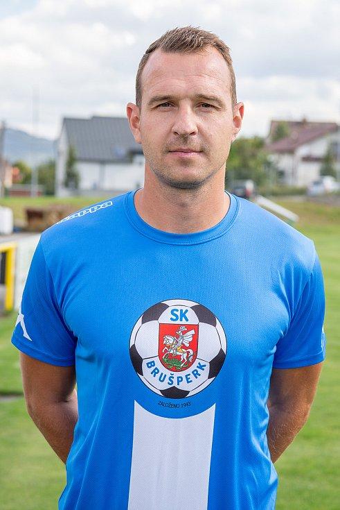 Fotbalový klub - Spolek SK Brušperk, 26. srpna 2020 v Brušperku. Jiří Malúš (útočník)