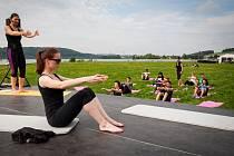 Poslední prázdninový den patřil na Ostravsku sportu. V relaxačním areálu Hlučín se otevřely brány všem milovníkům pohybu.