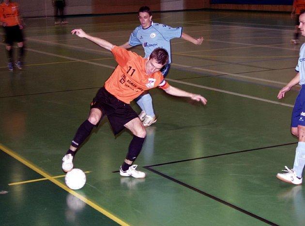 Ze zápasu futsalistů CC Jistebník