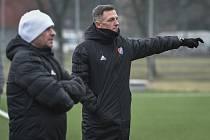 Na snímku trenér Baníku Luboš Kozel.