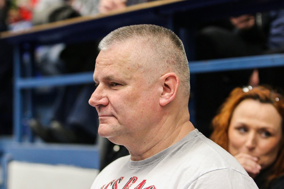 Utkání kvalifikace Fedcupového poháru Česká republika - Rumunsko, dvouhra, 10. února 2019 v Ostravě. Na snímku Jiří Kajínek.