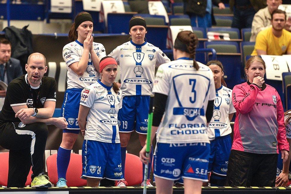 4d49dcef37e0a Superfinále play off florbalové superligy žen: 1. SC Tempish Vítkovice -  Fetpipe Florbal Chodov