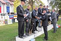 Severomoravští policisté se svými speciálně vycvičenými psy obsadili na otevřeném mistrovství ve vyhledávání drog v silné konkurenci skvělé druhé místo.