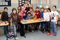 Žáci 3.B Základní školy Chrjukinova v Ostravě-Zábřehu