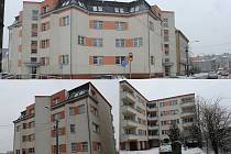 Dům se dvěma vchody v mariánskohorské ulici Baarova má dohromady čtyřiadvacet obecních bytů. Kromě starostky Liany Janáčkové v nich bydlí i celá řada jejích známých.