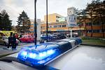 Zásah policie ve Fakultní nemocnici Ostrava po střelbě, úterý 10. prosince 2019 v Ostravě.