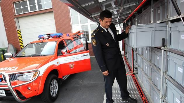 Ředitel moravskoslezských hasičů Zdeněk Nytra. Ilustrační foto.