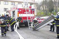 Dobrovolní hasiči z Ostravy-Radvanic