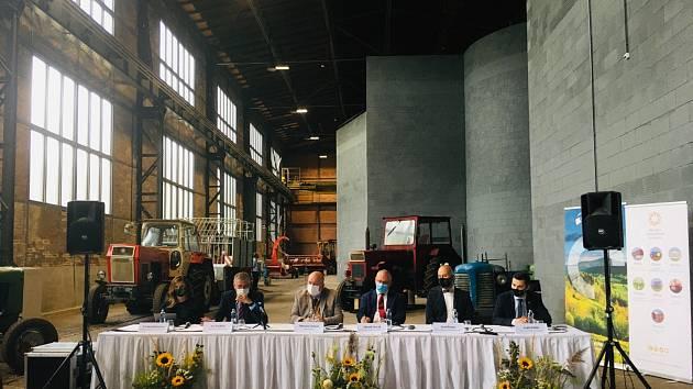 Muzeum zemědělství v Ostravě, slavnostní otevření 17. září 2020.