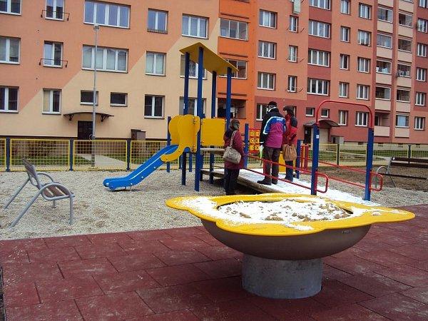 První dětské hřiště pro handicapované vOstravě-Jihu