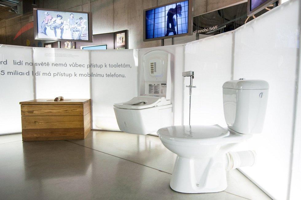 Tyto mnohdy až futuristicky vyhlížející toalety s nejmodernějšími technickými vychytávkami najdete v Dolní oblasti Vítkovic.