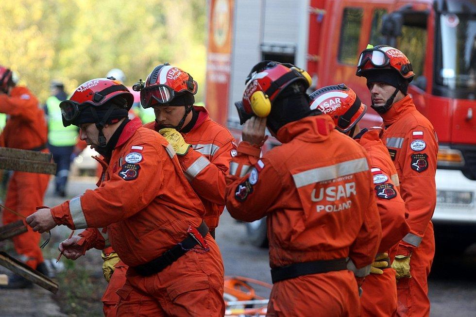 Mezinárodní cvičení USAR týmů v Ostravě. Ilustrační foto.