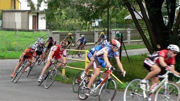 Ze závodu Slezského poháru v Paskově
