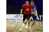 Ve finále Republic Cupu 2013 si proti sobě zahráli mimo jiné také Martin Tokoš (v popředí) a Ondřej Roman.