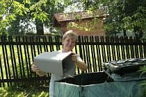 Karin Muczková z klimkovické základní školy si pořídila kompostér o největším objemu, protože má velkou zahradu.