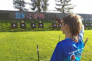 Úspěch mladých lukostřelců v Polsku. Zlato vybojoval v mladších žácích Tadeáš Valčík.