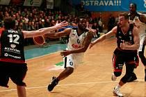 NBL: basketbalový zápas mezi NH Ostrava a Svitavami
