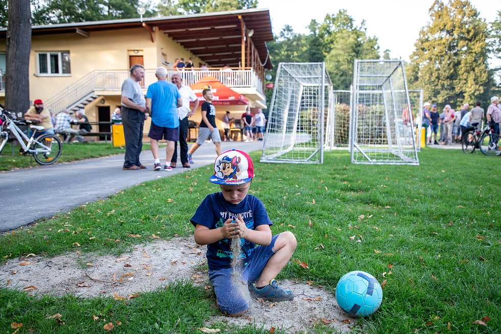 Fotbalové utkání I.A třídy, FC Vřesina – FK Bolatice, 13. září 2020 ve Vřesině.