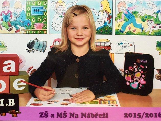 Karolína Anna Schleser, 5 let, Havířov, ZŠ Havířov