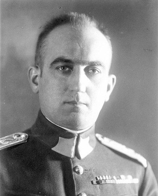 Legionář, voják a vězeň vnacistickém ikomunistickém koncentráku Vilém Stanovský.