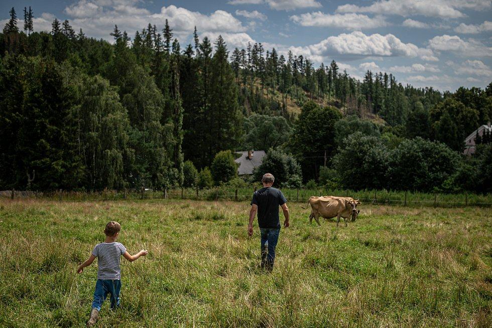 Ekologické farma U Stromovouse ve Světlé Hoře.