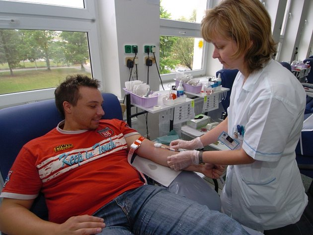V ostravském Krevním centru mají problémy s nedostatkem prvodárců