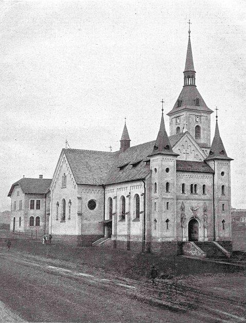 Kostel vMichálkovicích