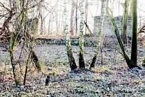 V těchto místech na Landeku stával velký amfiteátr