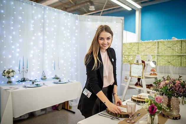 Michaela Nedomová a její svatební agentura Simply Yes nechyběly ani na Veletrhu Svatba na Černé louce, 1.února 2020vOstravě.