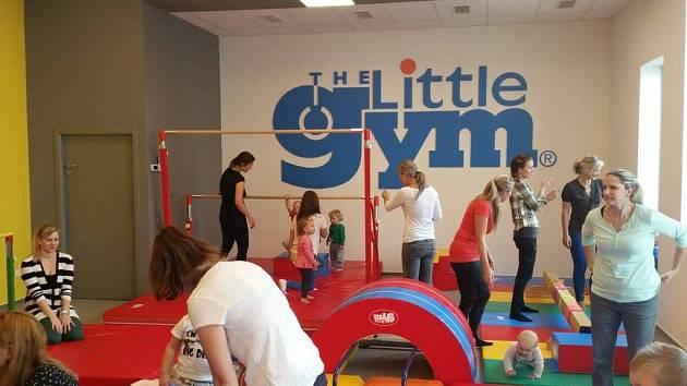 Nové pohybové centrum The Little Gym v centru Ostravy naproti Nové Karolině ve Švabinského ulici.