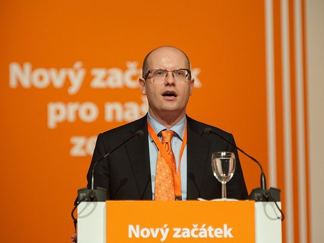 37. sjezd ČSSD v multifunkční aule Gong v Ostravě. Staronovým předsedou se stal Bohuslav Sobotka