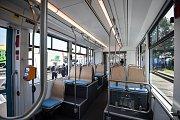 Czech Raildays 2018 v Ostravě, 19. června 2018 v Ostravě. Nová  tramvaj Stadler nOVA.