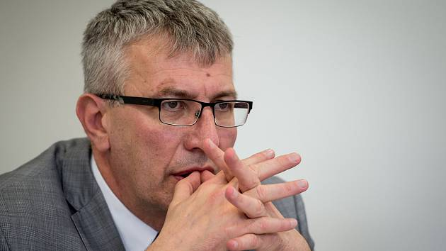 Na snímku ředitel Fakultní nemocnice Ostrava MUDr. Jiří Havrlant při neformální setkání v Ostravě.
