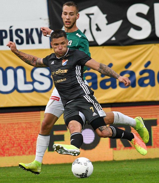 Martin Fillo - FORTUNA:LIGA - Skupina o titul, 5. kolo - FK Jablonec - FC Baník Ostrava, 8. července 2020 v Jablonci.