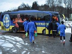 Fotbalisté Baníku v Orlové zahájili zimní přípravu.