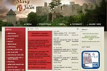 Úvodní stránka webu obce Starý Jičín z úterý 25.8.015