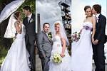 Snímky novomanželských párů jedenáctého kola.