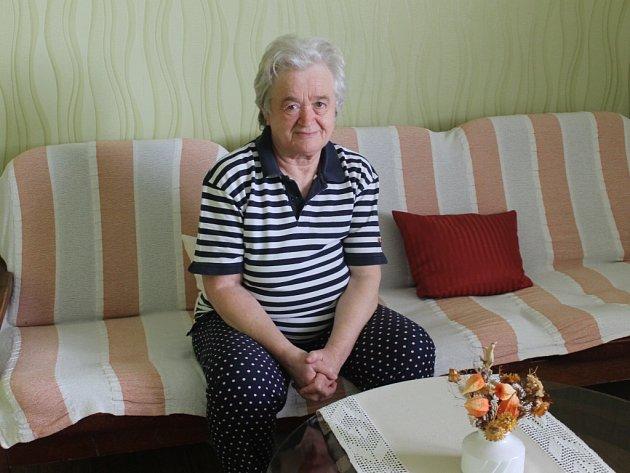 MARIE TICHÁ je s důchodem spokojena. Na penzi je již jednadvacet let.