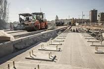 Ostravu čeká v dubnu výluka. Modernizace tramvajové tratí omezí i auta. Ilustrační foto.