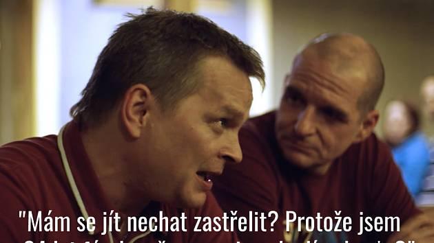 Snímek z facebookové stránky věnované dokumentu Nová šichta.