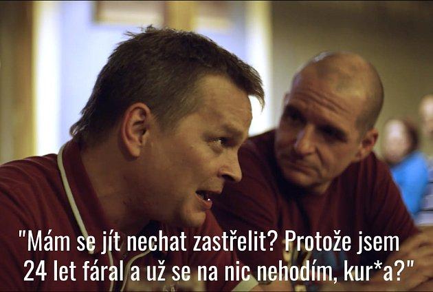 Snímek zfacebookové stránky věnované dokumentu Nová šichta.