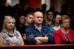 Okresní soud v Ostravě si společně s Krajským soudem v Ostravě pro návštěvníky připravily simulované hlavní líčení (trestní řízení) s komentářem a s následnou diskuzí v rámci projektu Noc práva, 6. března 2020 v Ostravě.