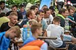 Soutěž o penaltového krále Moravskoslezského kraje 2018 na Hukvaldech.