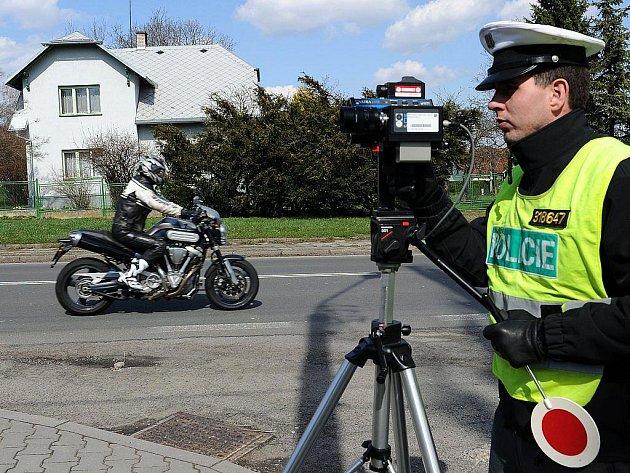 Dopravně bezpečnostní akce proběhla na výpadovce na Opavu.