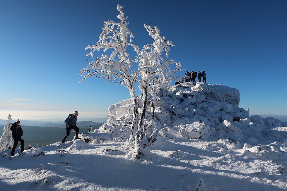 Iva Žídková putuje zimními horami: Ztracené kameny