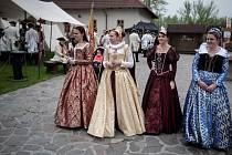 "Slavnosti na téma "" 300 let Marie Terezie ..... Od Laudona po Napoleona"" na Slezskoostravském hradě."